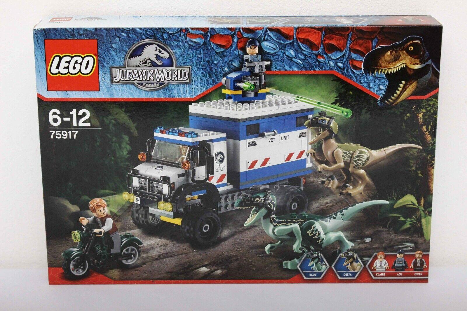 Lego Jurassic World Set 75917-1  Raptor Rampage - Brand nouveau Sealed Box  sortie de vente pas cher en ligne
