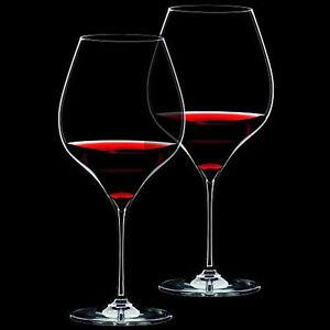PerséVéRant Riedel - 2 Calici Degustazione Grape - Pinot Noir/nebbiolo 6404/07 - Rivenditore Ventes Pas ChèRes 50%