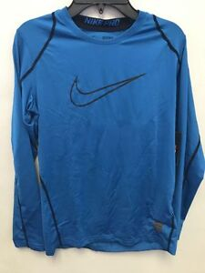 62c559c7 NIKE PRO BOY'S LONG SLEEVE TRAINING TOP ASST SIZES BRAND NEW 739405 ...