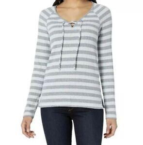 Lucky Brand Womens LS Henley Shirt