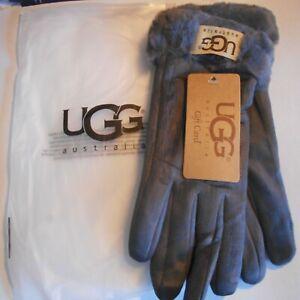 UGG-Women-039-s-winter-gloves-gray-brand-new