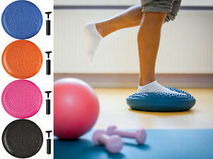 Wobble Disc Balance Board for Core Work Out and Balancing Training with Pump