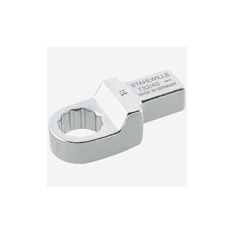 Stahlwille 58224022 732 40 Ring insert tool 22 mm, 14x18 mm
