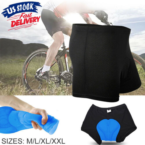 US Men's Cycling Shorts/Bike Shorts And Cycling Underwear With High-Elasticity