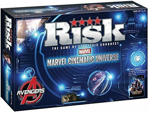 Risk - Marvel Cinematic Universe Board Game - Avengers, Guardians of the Galaxy