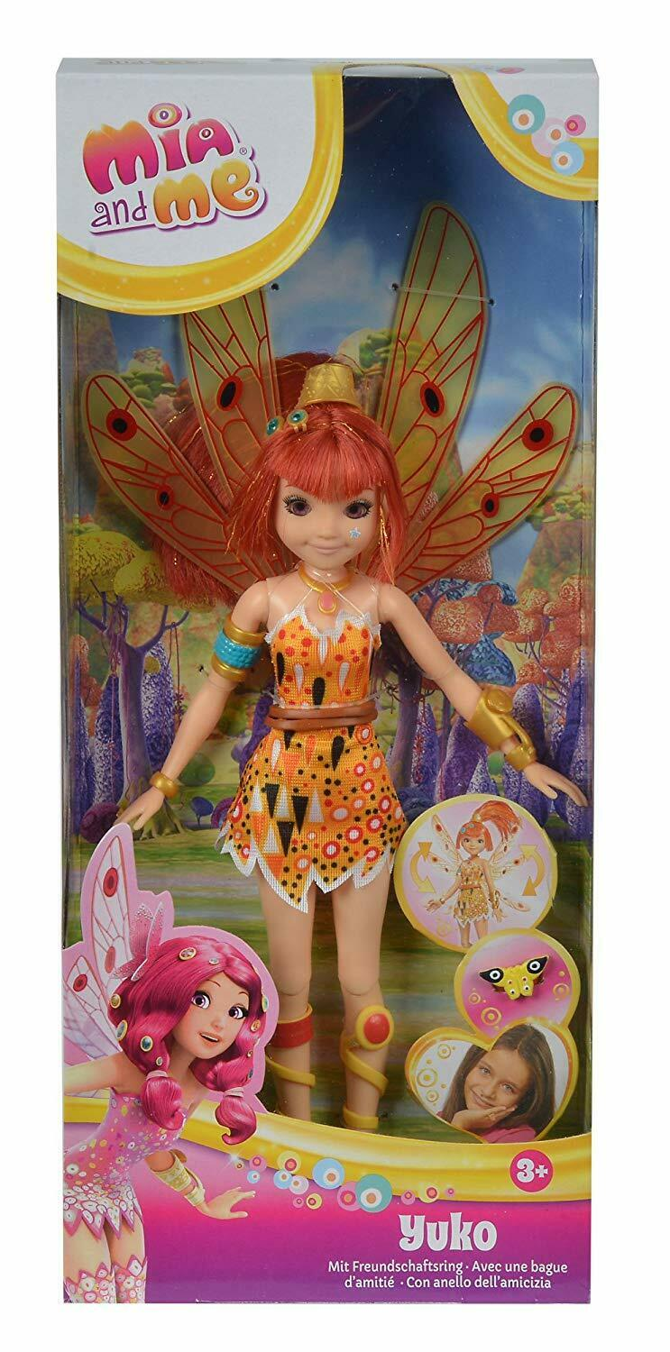 Simba 109480090Mia and Me Dress Up Up Up Doll Yuko Mannequin Poseable Legs And Wings b5d3d1
