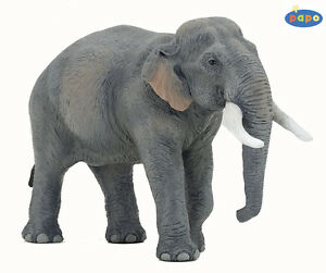 Asian Elephant 6 5/16in Wild Animals Papo 50131