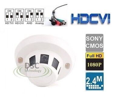 4in1 1080P FHD Smoke Detect Hidden SPY Camera 2MP CCTV HD CVI AHD TVI Analog