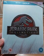 Jurassic Park Collection Box Set Blu-Ray (Region Free)-NEW-Free S&H-All 4 Movies