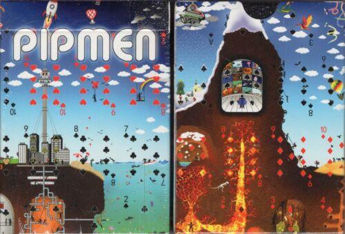 Pipmen World Full Art Playing Cards Poker Size Deck MPC Custom Limited Edition