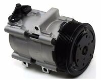 Ford F-150 F-250 F-350 A/c Compressor With Clutch 8 Poly Premium Aftermarket on sale