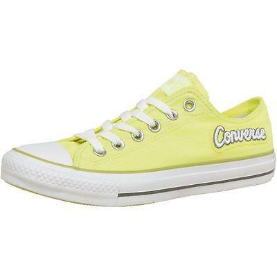 Détails sur Converse femme ct all star ox escarpins jaune fluo printempsété 2015 afficher le titre d'origine