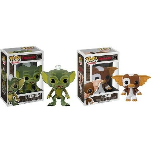 FUNKO POP Vinyl Gremlins Flashing Greta Gizmo Full Set x 4 Hard To Find (Movies)