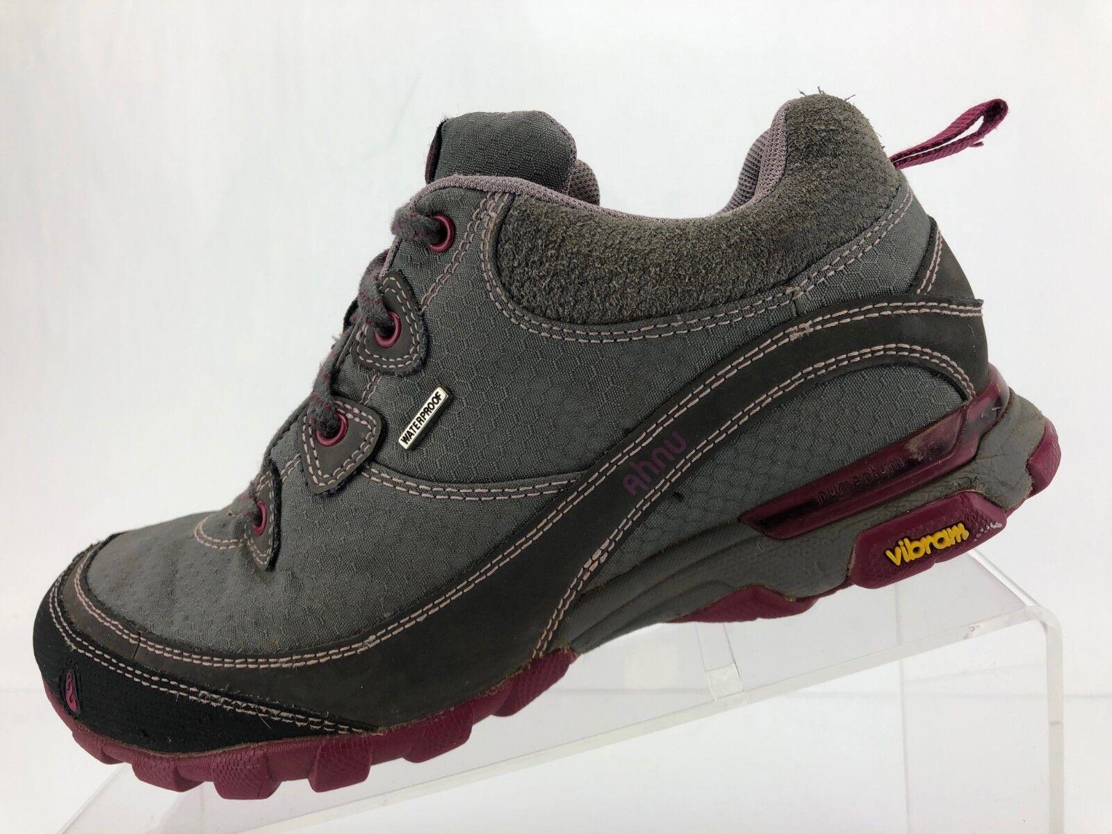 Ahnu Sugarpine Senderismo Zapatos  Zapatillas gris Impermeable Trail Senderismo Para Mujer Talla 7  alta calidad y envío rápido