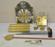 JAUCH 77 (Cornwell) Grandfather Clock Set MOVEMENT DIAL PENDULUM WEIGHTS CHIMES