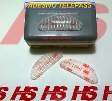 Kit supporto removibile 3M DUAL LOCK  ADESIVO TELEPASs per auto tablet gps 2pz.