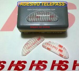 adesivo telepass auto  Kit supporto removibile 3M DUAL LOCK ADESIVO TELEPASs per auto 2pz ...