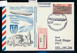 IndéPendant 97401) Rda Zeppelin Sau Eisenberg, So-carte 1988 Reco Ef 60pf!!!-afficher Le Titre D'origine Volume Large