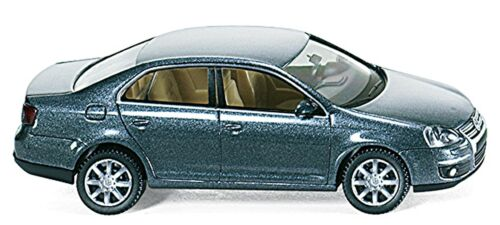 VW Volkswagen Jetta V Bora Vento Sagitar 2005-10 platinum grey grau 1:87 WI 6702