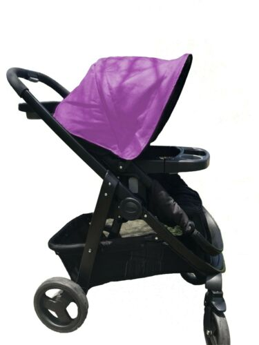 Canopy Sun Shade Hood Cover Black Blue Red Pink for Graco Modes Baby Strollers