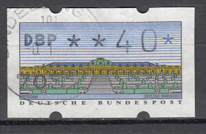 BRD 1999 Automaten-Freimarke Nr. 2.1. 2 40er Gestempelt (21431) - Beckum, Deutschland - BRD 1999 Automaten-Freimarke Nr. 2.1. 2 40er Gestempelt (21431) - Beckum, Deutschland