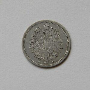 Empire: 20 Pfennig 1874 F, J. 5, Très Belle, Ii.-afficher Le Titre D'origine Bas Prix