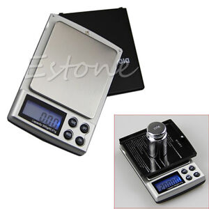1PC-Digital-Scale-1000g-x-0-1g-Jewelry-Gold-Silver-Gram-Pocket-Balance-Weight