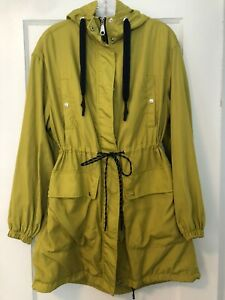 Womens-Zara-Trf-Collection-Tie-Waist-Hooded-Lightweight-Jacket-Size-S-M