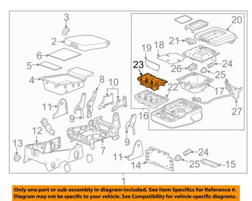 GM OEM Front Seat-Liner 23362989