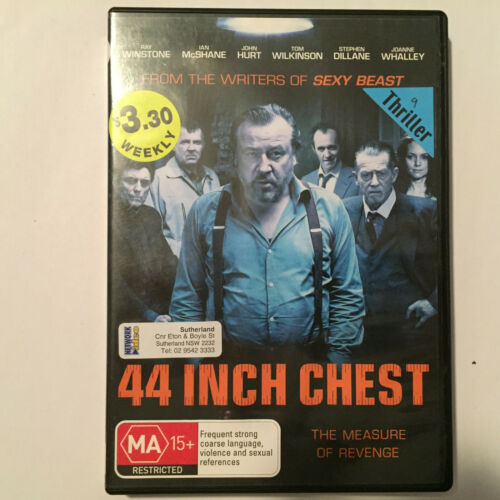 1 of 1 - 44 Inch Chest (DVD, 2010) - NO CASE