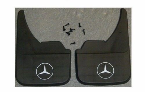 Mercedes Logo SL Class Universal Car Mudflaps Front Rear Front Mud Flap Guard