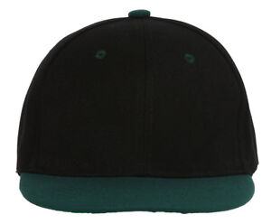Youth-Blank-Two-Tone-Snapback-Hat