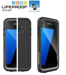 LifeProof FRE Water Dust Proof Case for Samsung Galaxy S7 Black Gray ... eed81024fe