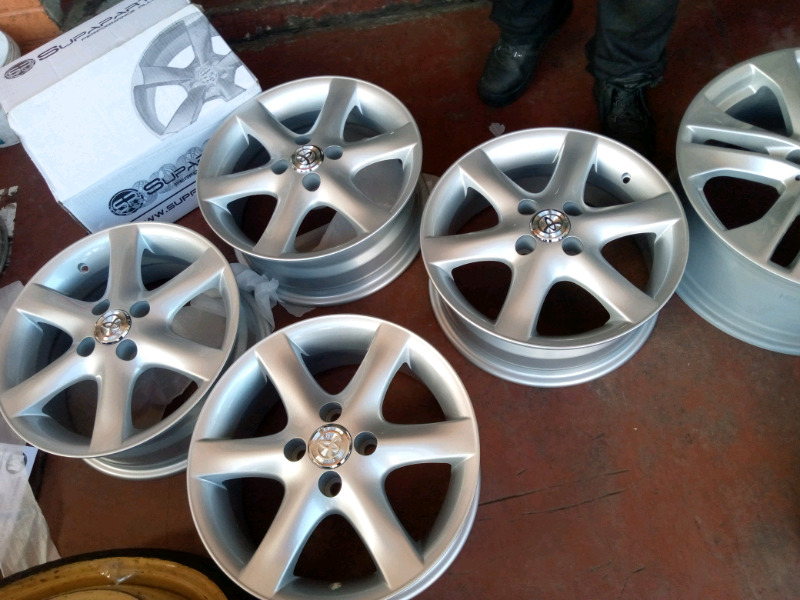 Toyota Brand New mags  size 15