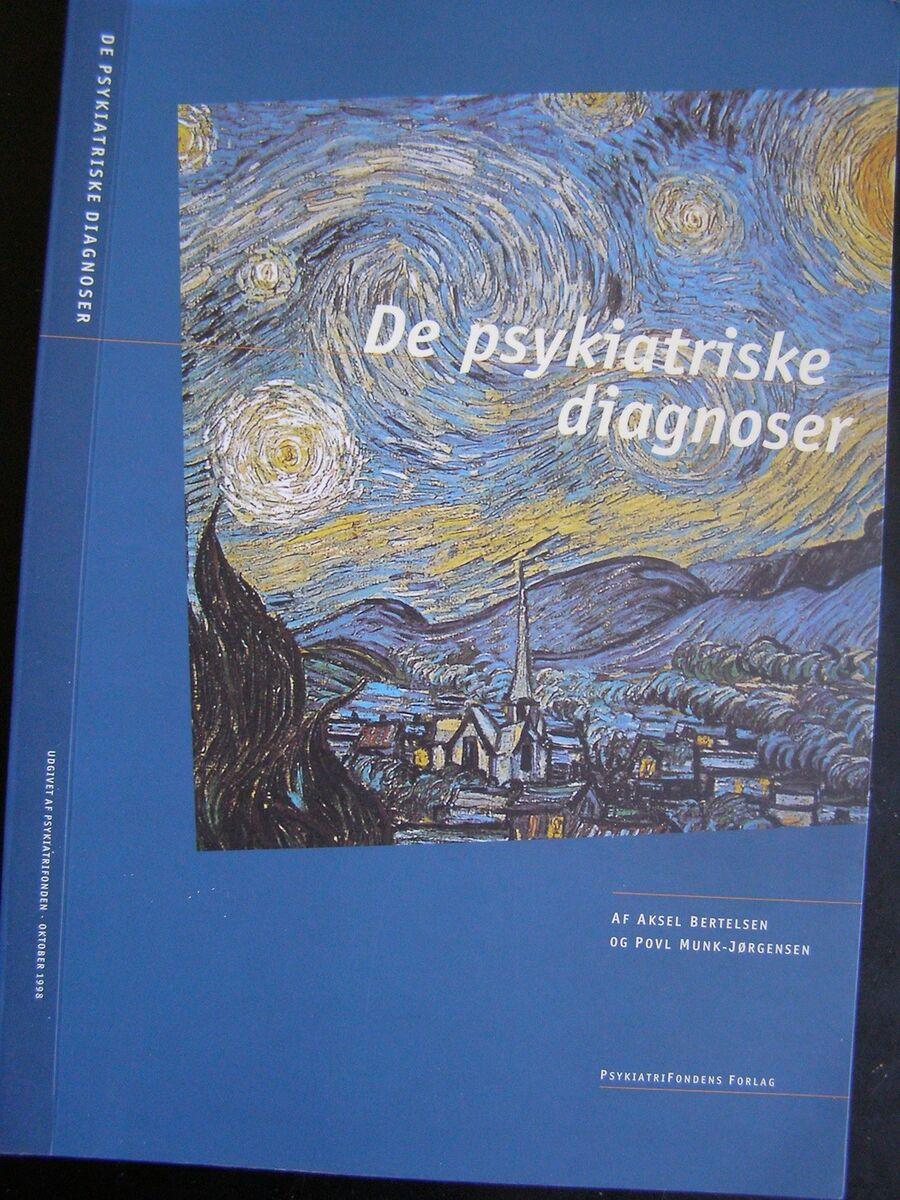 de psykiatriske diagnoser