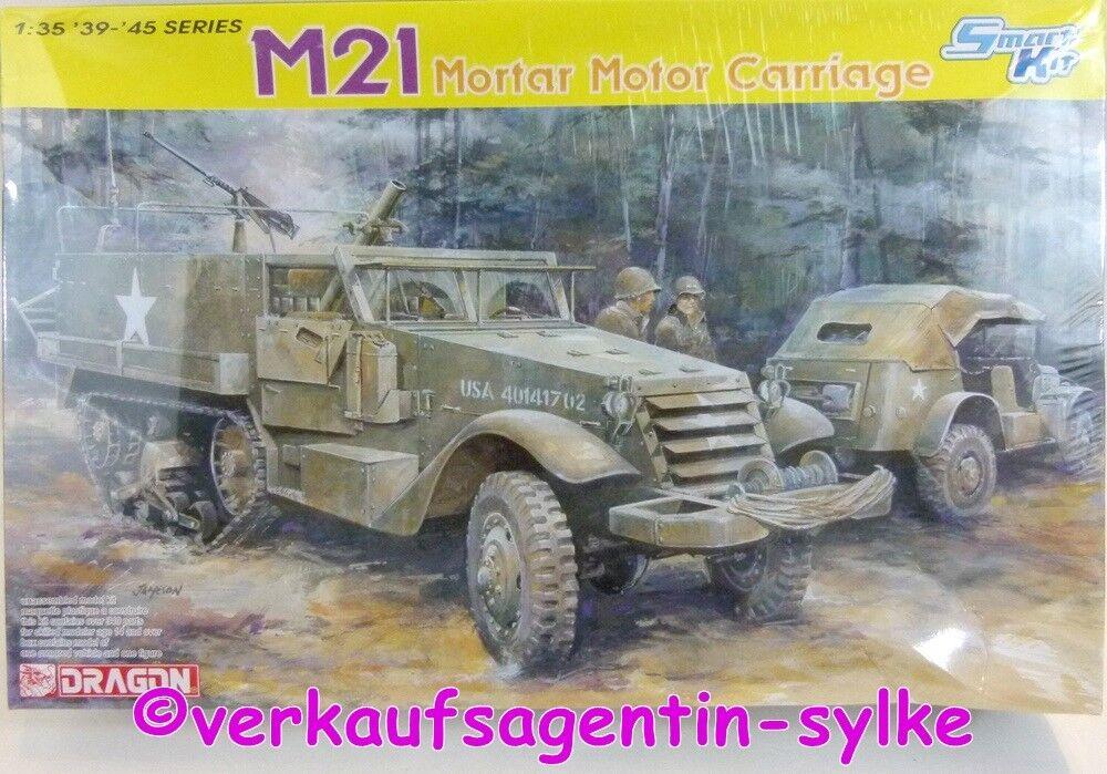 barato 517  Dragon Modelo de Construcción Smart Kit  M21 M21 M21 Mortero Moto Cocheriage  hasta un 70% de descuento