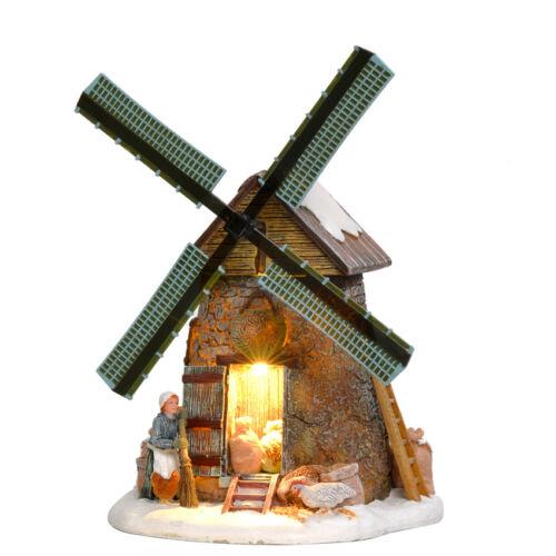 Noël Luville Grain Mill moulin à vent décoration de Noël