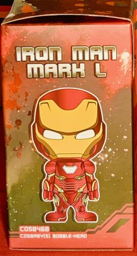 HOT TOYS Cosbaby Avengers Infinity War IRON MAN MARK L artigianale 460