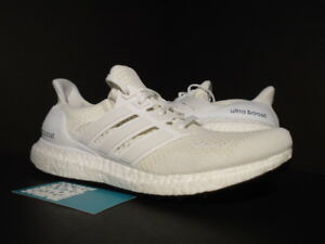 cccad2edb08be ... white s77416 90984 ba098  wholesale image is loading 2015 adidas ultra  boost m 1 0 triple 3a8c8 02557