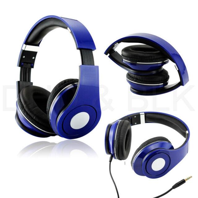 Adjustable Over-Ear Earphone Headphone 3.5mm for iPod MP3 MP4PC iPhone Music