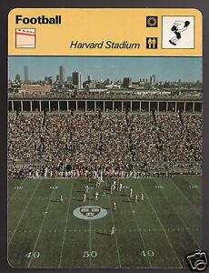 HARVARD-STADIUM-NCAA-Football-Boston-Photo-1979-SPORTSCASTER-CARD-64-11