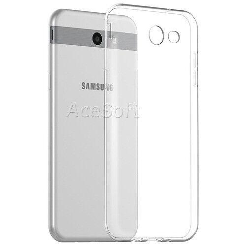 big sale 3ed66 66bb2 Clear Slim Soft Silicone Case for MetroPCS Samsung Galaxy J7 Prime  Sm-j727t1 USA