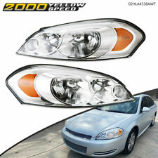 Lens Amber Corner Headlights Fit For 06 13 Chevy Impala06 07 Monte Carlo Usa Fits 2006 Impala