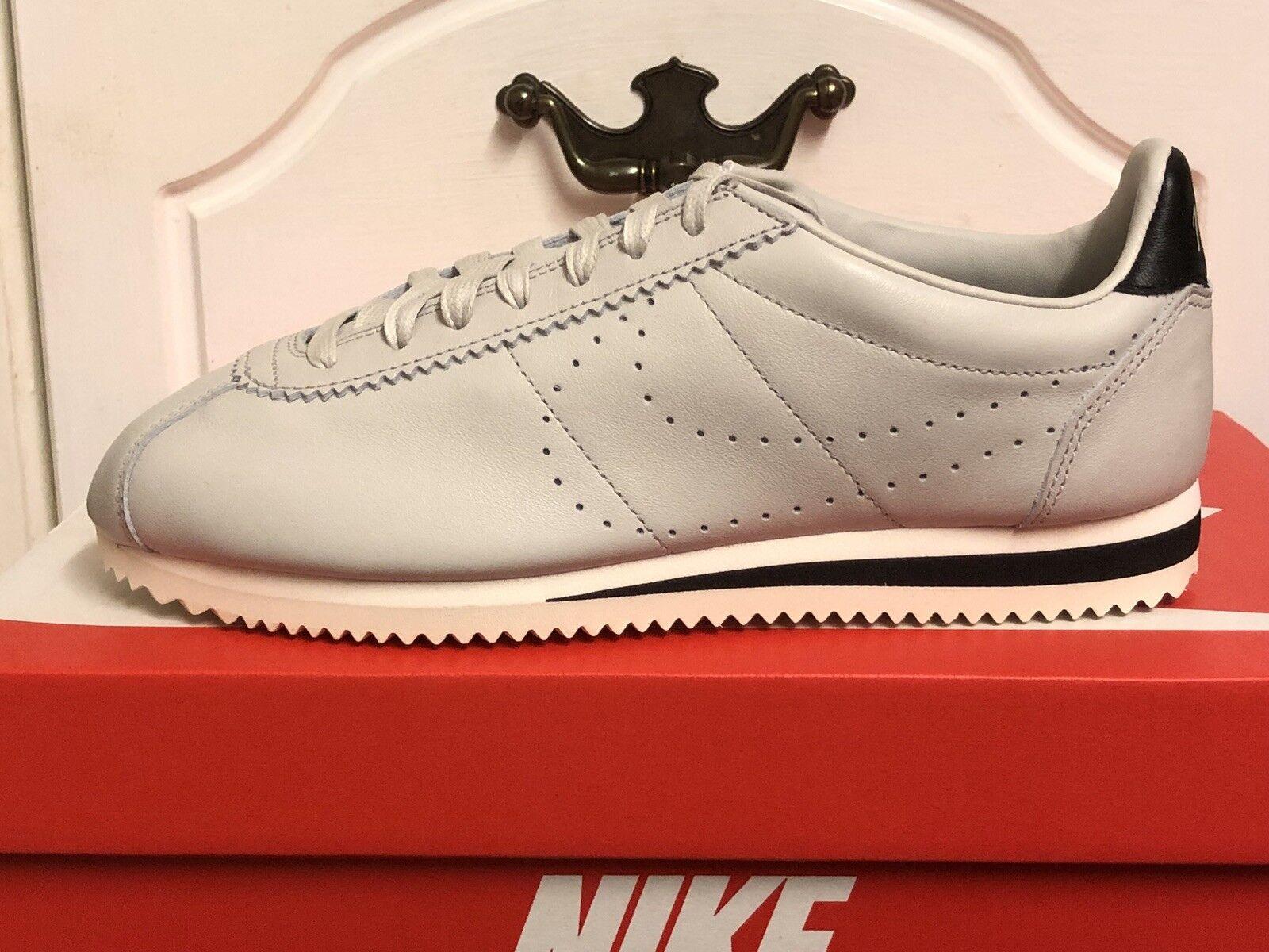 NIKE CLASSIC CORTEZ LEATHER PREM SNEAKERS  Herren  TRAINERS SNEAKERS PREM Schuhe UK 6 EUR 40 a6ba63