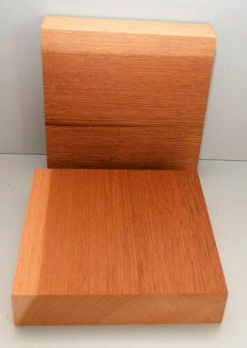 2 x Drechselholz Schalenrohling   240x240x50 mm Bastelholz Mahagoni