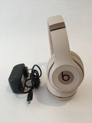 Beats By Dr Dre Solo3 Wireless On Ear Headphones Satin Gold 190198936752 Ebay
