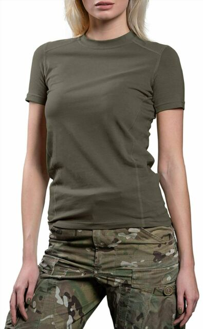 Fox Outdoor Products Womens Military Wife Cotton Tee