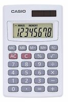 Casio 8 Digit Solar Plus Battery Calculator Auto Off Tiny For Pocket Or Purse