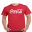 Coke-Coca-Cola-Logo-T-Shirt thumbnail 5