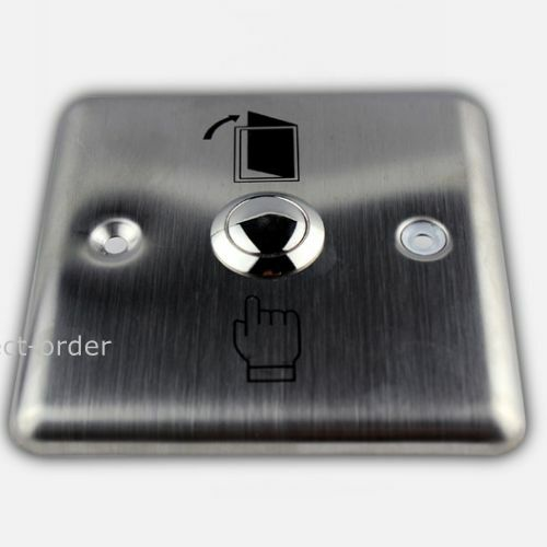 DC12V Door Release Button// Door Exit Button for Access Control Stainless Steel